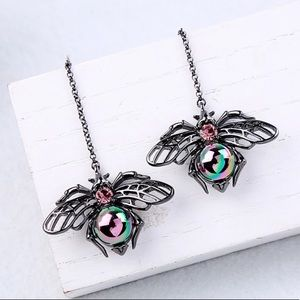 Jewelry - New long insect  drop earrings
